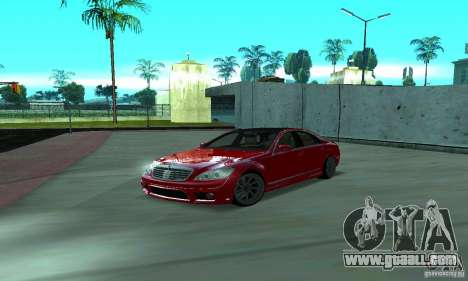 Mercedes-Benz S65 AMG Estate Edition for GTA San Andreas side view
