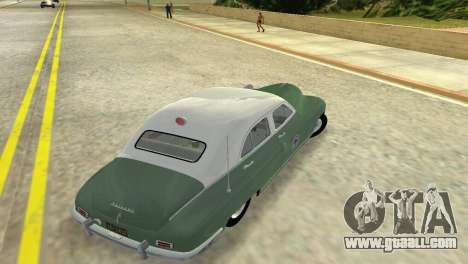 Packard Standard Eight Touring Sedan Police 1948 for GTA Vice City right view