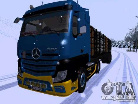 Mercedes Benz Actros MP4 for GTA San Andreas