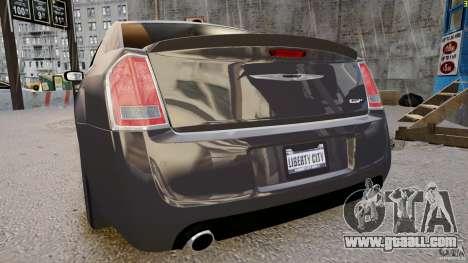 Chrysler 300 SRT8 2012 for GTA 4 right view