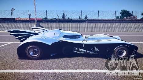 Batmobile v1.0 for GTA 4 side view
