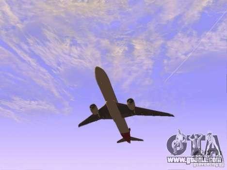 Boeing 787 Dreamliner Qantas for GTA San Andreas right view