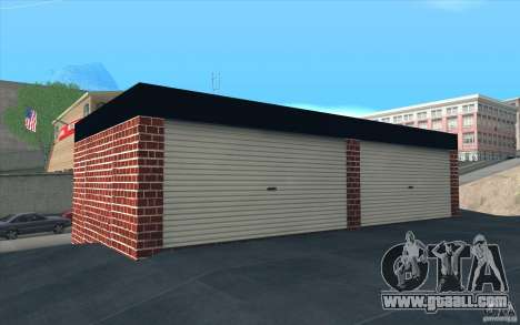 New garage in Dorothy for GTA San Andreas forth screenshot