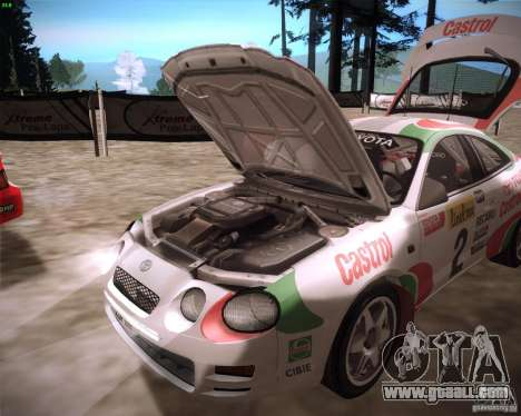 Toyota Celica ST-205 GT-Four Rally for GTA San Andreas right view
