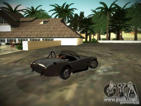 Shelby Cobra for GTA San Andreas right view