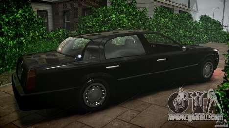 Washington FBI Car for GTA 4 left view