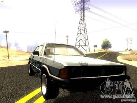 Volkswagen Scirocco Mk1 for GTA San Andreas side view