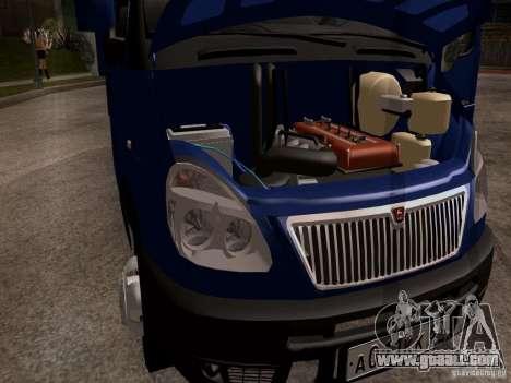 Gazelle 33023 for GTA San Andreas inner view