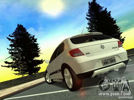 Volkswagen Gol Rallye 2012 for GTA San Andreas left view