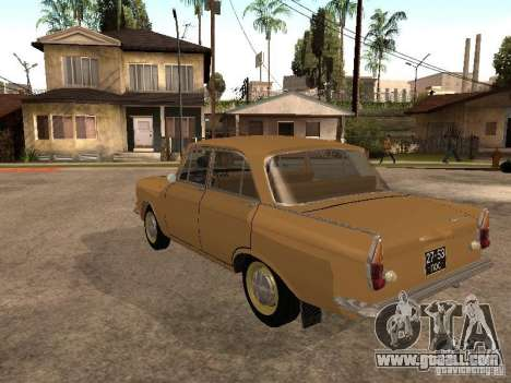 Moskvitch 408 Elite for GTA San Andreas back left view