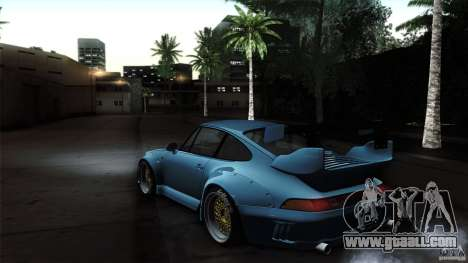 Porsche 993 RWB for GTA San Andreas right view