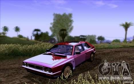Lancia Delta S4 Stradale (SE038) for GTA San Andreas