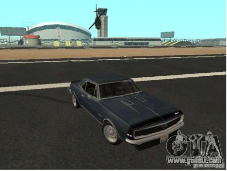 Chevrolet Camaro SS 396 Turbo-Jet for GTA San Andreas