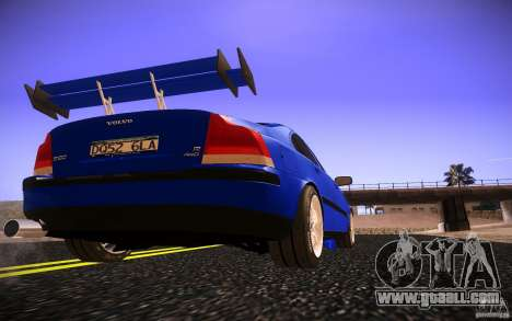 Volvo S 60R for GTA San Andreas upper view