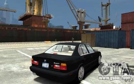 BMW 540i E34 v3.0 for GTA 4 right view