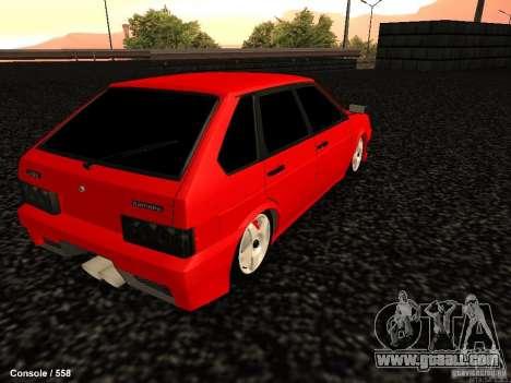 VAZ 2109 Opera Turbo for GTA San Andreas back left view