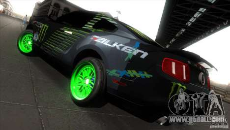 Ford Shelby GT500 Falken Tire for GTA San Andreas right view