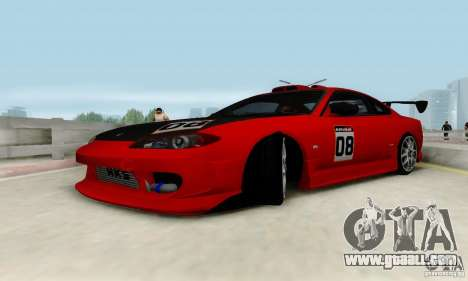 Nissan Silvia S15 Tunable for GTA San Andreas engine
