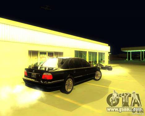 BMW 750i e38 2001 M-Packet for GTA San Andreas right view