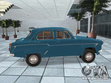 Moskvich 403 for GTA San Andreas right view