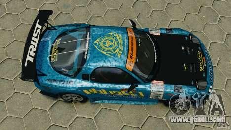 Mazda RX-7 RE-Amemiya for GTA 4 right view