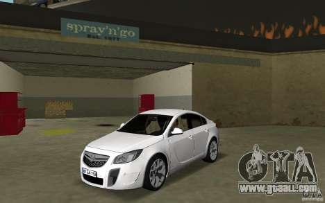 Opel Insignia for GTA Vice City