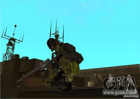 Skin of Battlefield 3 for GTA San Andreas second screenshot
