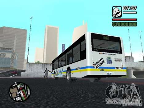 Onibus for GTA San Andreas right view
