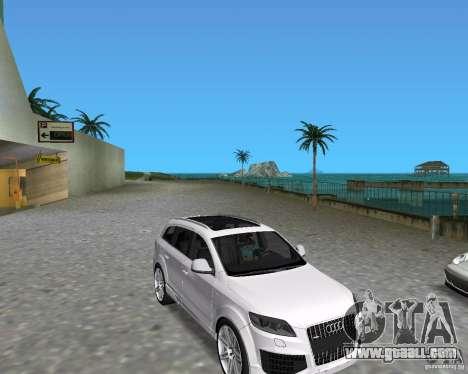 Audi Q7 v12 for GTA Vice City