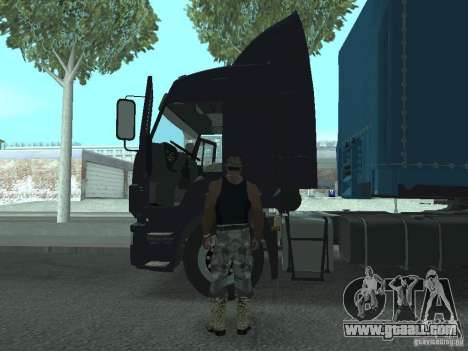 Active dashboard v.3.0 for GTA San Andreas forth screenshot