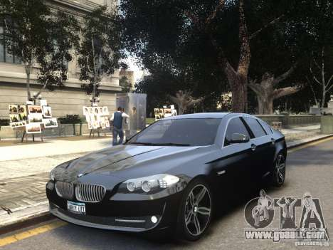 BMW 550i F10 for GTA 4