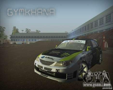 Gymkhana mod for GTA Vice City