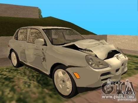 Porsche Cayenne for GTA San Andreas inner view