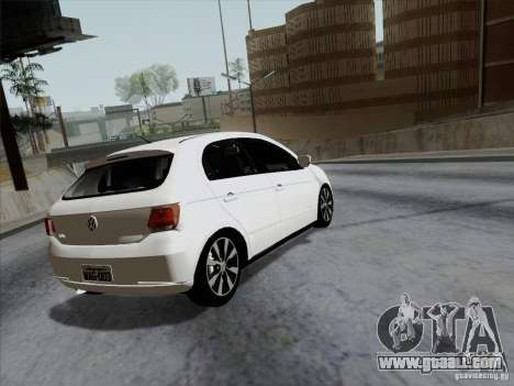 Volkswagen Golf G6 v3 for GTA San Andreas left view