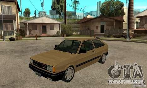 VW Gol GL 1.8 1989 for GTA San Andreas