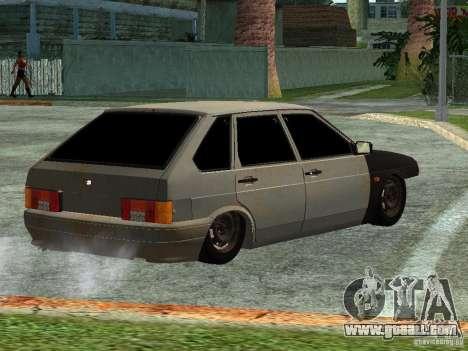 ВАЗ 2114 Hobo for GTA San Andreas left view