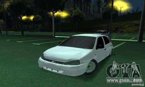 Lada Kalina Hatchback for GTA San Andreas