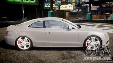 Audi S5 v1.0 for GTA 4 left view