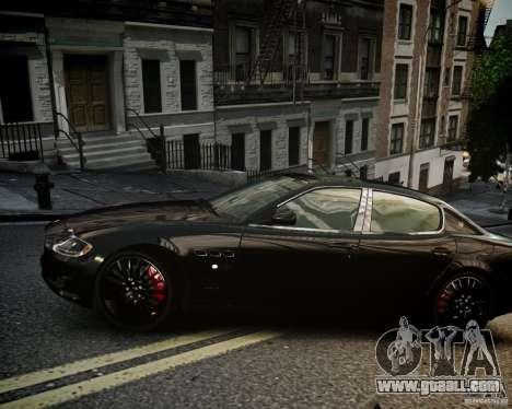 Maserati Quattroporte Sport GTS 2011 for GTA 4 back left view