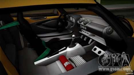 Lotus Exige Track Car for GTA San Andreas wheels