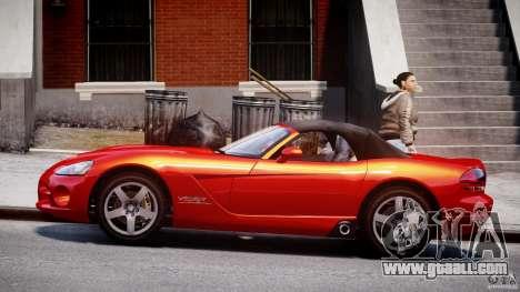 Dodge Viper SRT-10 2003 1.0 for GTA 4 left view