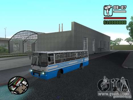 Ikarus 260 safety for GTA San Andreas side view