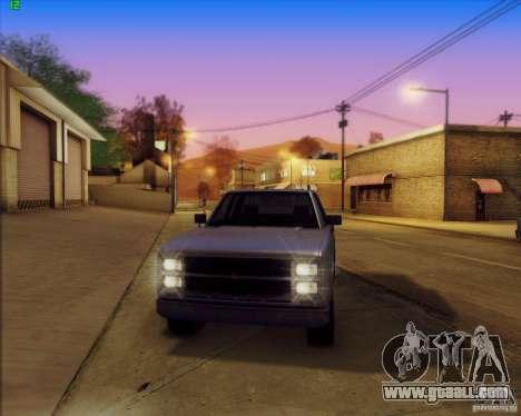 SA_Mod v1.0 for GTA San Andreas fifth screenshot