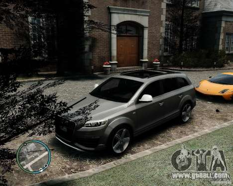 Audi Q7 V12 TDI Quattro Updated for GTA 4 back view