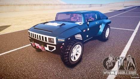 Hummer HX for GTA 4