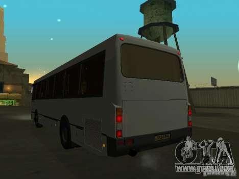 LAZ 52528 for GTA San Andreas inner view
