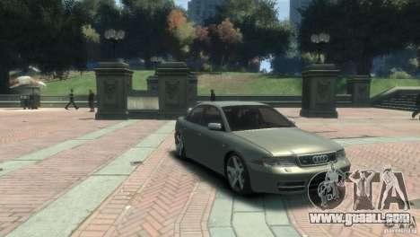 Audi S4 for GTA 4 back left view