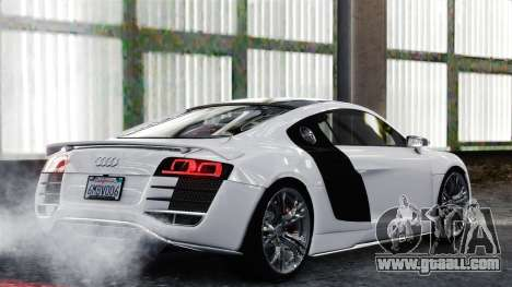 Audi R8 LeMans for GTA 4 right view