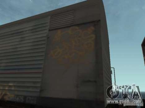 Refrežiratornyj wagon Dessau No. 8 Painted for GTA San Andreas back view