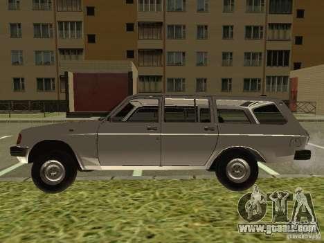 GAZ Volga 31022 for GTA San Andreas right view